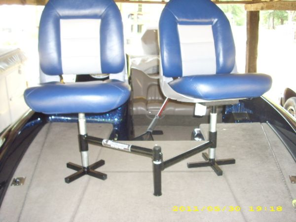 Spider Rigging Double Seat ~ Diy boat seat pedestal do it your self